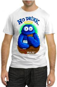 No drink, only cookies & milk!